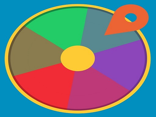 Rotating Wheel Game 2D