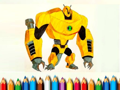 Ben10 Monsters Coloring