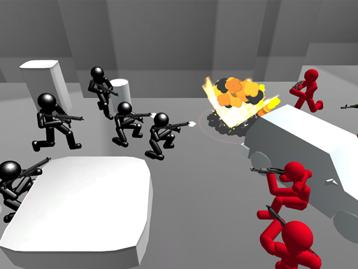 Counter Stickman Battle Simulator