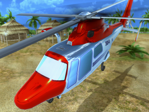 Helicopter Rescue Flying Simulator 3D