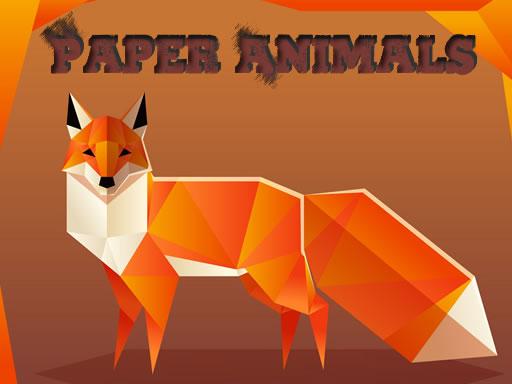 Paper Animals Pair